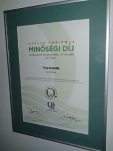 magyar turizmus díj